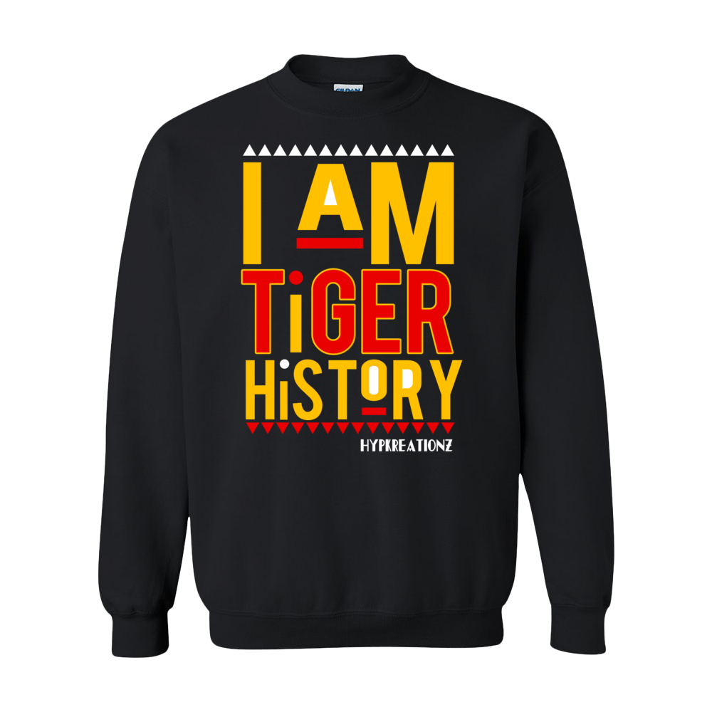 I AM TIGER HISTORY (GRAMBLING) SWEATSHIRT