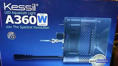 NEW Kessil A360WE Wide Angle Dimmable Aquarium Tuna Blue 90 Wat LED Controllable
