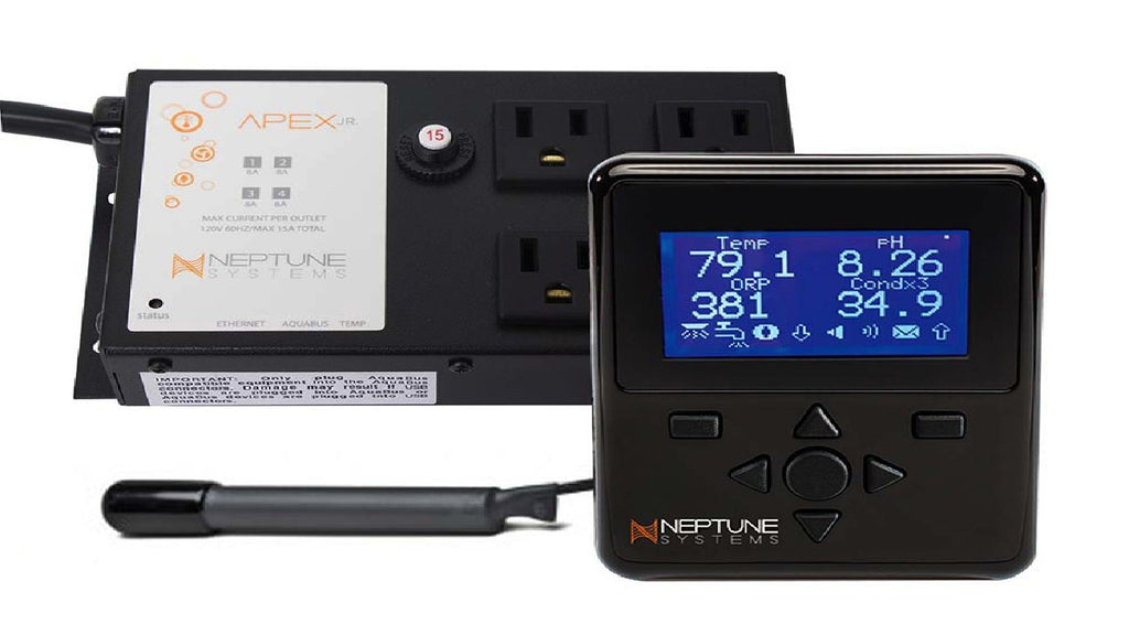 Neptune Systems AquaController Apex Jr w/ Display & Temperature Probe