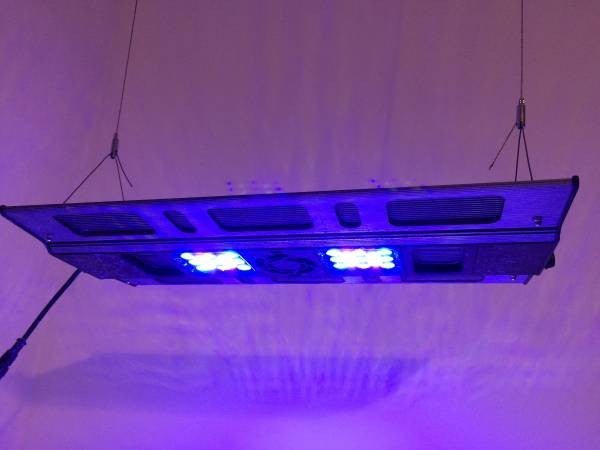 Used Maxspect Razor R420R 120w LED Lighting System 20.5 Inch 10,000k