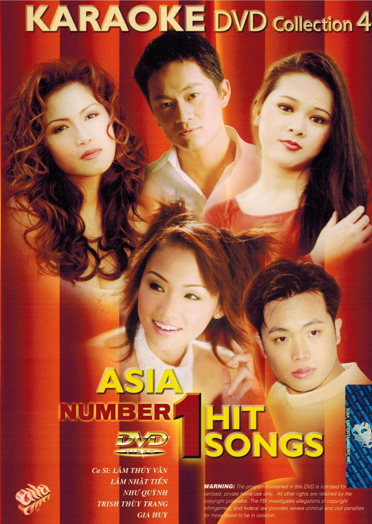 Karaoke Asia #1 Hit Songs