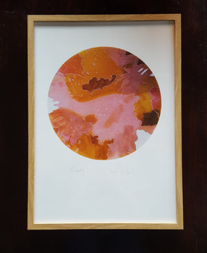EMPATHY Abstract Print