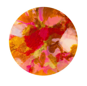 PINK CHAMPAGNE Abstract Print