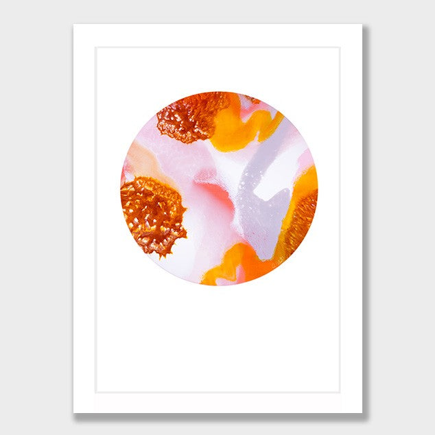 COOKIES &  CREAM Abstract Print from $89