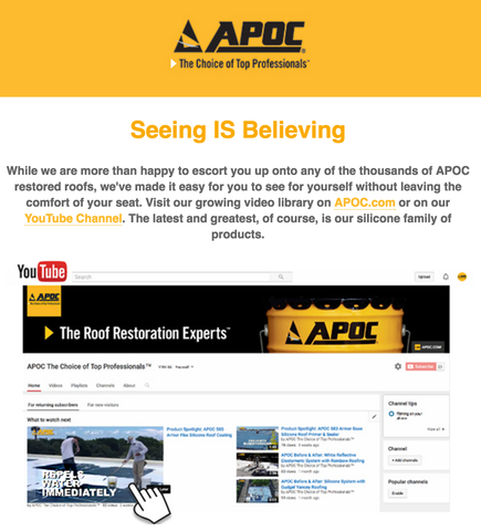 APOC @ Tech Talk - Seeing  IS Believing