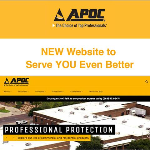 APOC @ Tech Talk - New Website to Serve YOU Even Better
