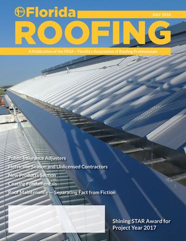 APOC WEATHER-ARMOR FT3 FLEECE-TOP FEATURED IN FLORIDA ROOFING MAGAZINE!