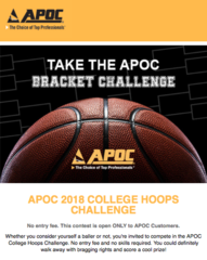 APOC 2018 COLLEGE HOOPS CHALLENGE!