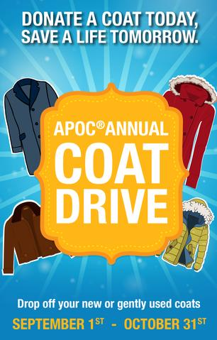 APOC ANNUAL COAT DRIVE