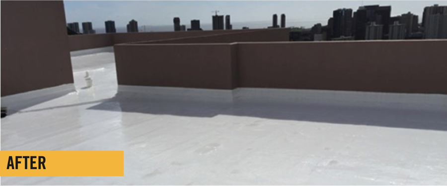 Roofing Project Profile High Rise Apoc