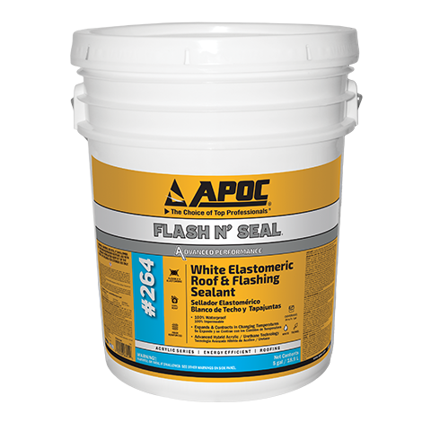 APOC® 264 Flash N' Seal® White Elastomeric Roof & Flashing Sealant
