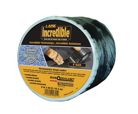 APOC<sup>®</sup> Black Tape Heavy Duty All Purpose Tape & Sealant