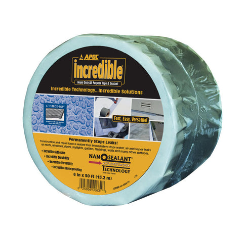 APOC<sup>®</sup> Fleece-Top<sup>®</sup> Heavy Duty All Purpose Tape & Sealant