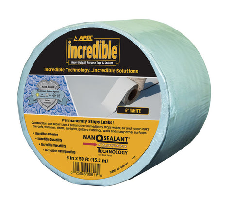 APOC<sup>®</sup> White Tape Heavy Duty All Purpose Tape & Sealant
