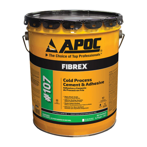 APOC<sup>®</sup> 107 FIBREX<sup>®</sup> Cold Process Cement & Adhesive