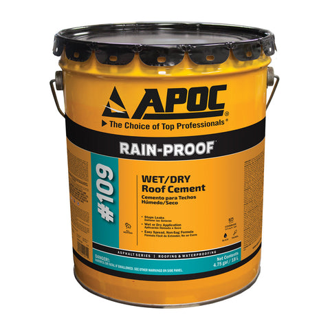 APOC® 109 Rain-Proof® Wet/Dry Roof Cement
