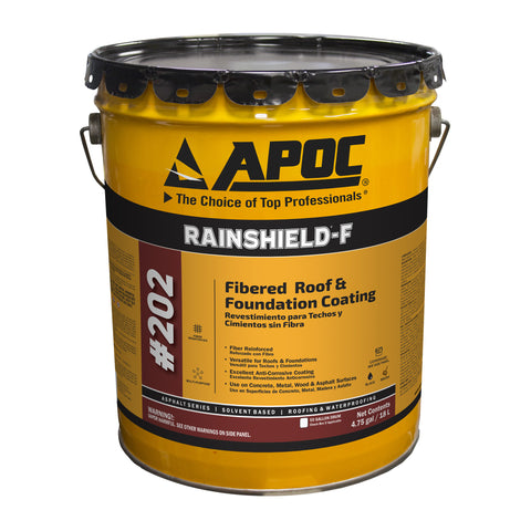 APOC<sup>®</sup> 202 RAINSHIELD<sup>®</sup>-F Fibered Roof & Foundation Coating