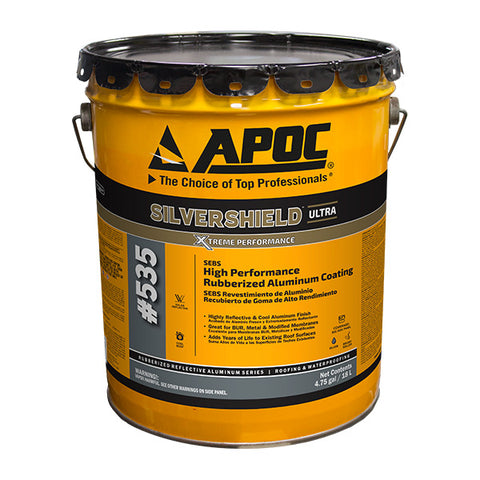 APOC<sup>®</sup> 535 Silvershield<sup>™</sup> SEBS High Performance Rubberized Aluminum Coating