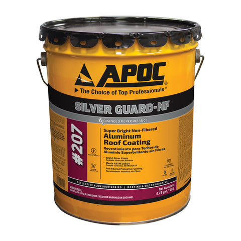 APOC® 207 Silver Guard®-NF Non-Fibered Aluminum Roof Coating