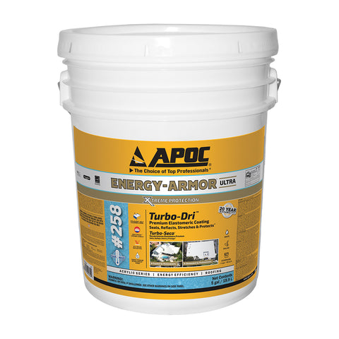 APOC<sup>®</sup> 258 ENERGY-ARMOR<sup>™</sup> Ultra Turbo-Dri<sup>™</sup> Premium Elastomeric Coating