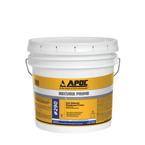 APOC<sup>®</sup> 290 Secure Prime<sup>™</sup> Self-Adhered Membrane Primer