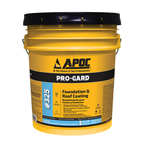 APOC<sup>®</sup> 325 Pro-Gard<sup>®</sup> Foundation & Roof Coating