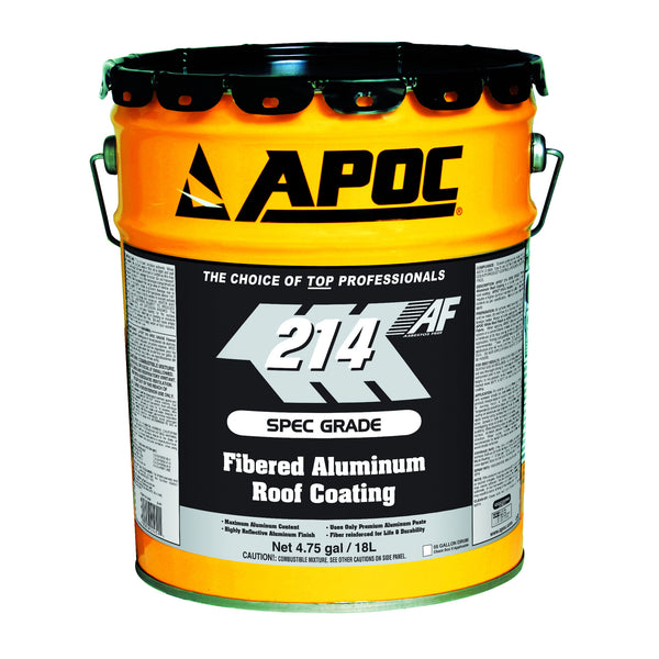 Apoc 174 214 Spec Grade Aluminum Roof Coating