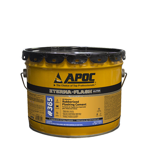 APOC<sup>®</sup> 365 Eterna-Flash<sup>®</sup> All Weather / All Season Rubberized Flashing Cement