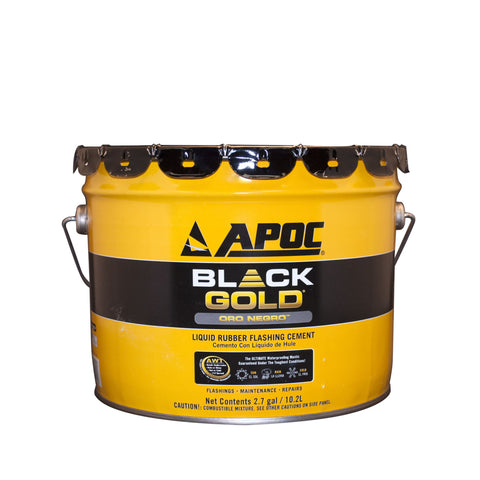 APOC® 115 Black Gold® Liquid Rubber Flashing Cement