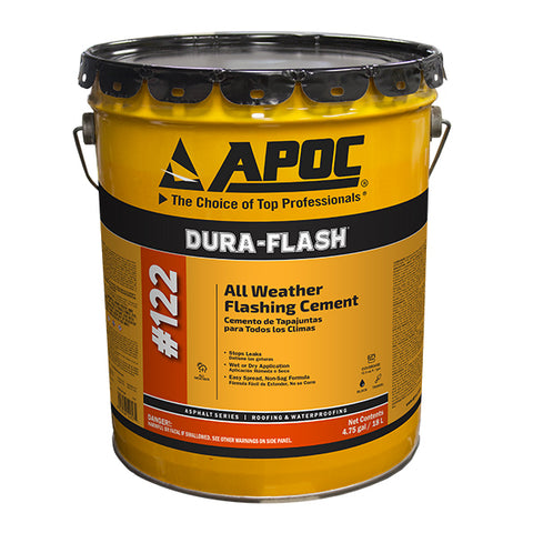 APOC® 122 DURA-FLASH All Weather Flashing Cement