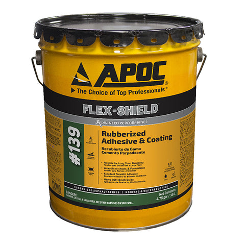 APOC<sup>®</sup> 139 FLEX-SHIELD<sup>®</sup> Thermoplastic Rubber Adhesive & Coating