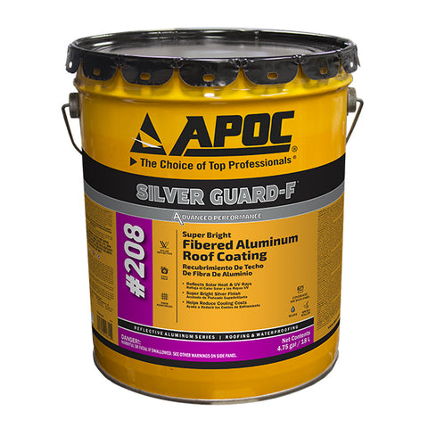APOC® 208 Silver Guard-F® Fibered Aluminum Roof Coating
