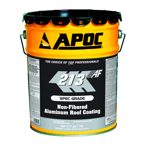 APOC® 213 Non-Fibered Aluminum Roof Coating