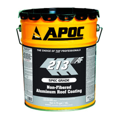 Apoc 174 208 Silver Guard F 174 Fibered Aluminum Roof Coating