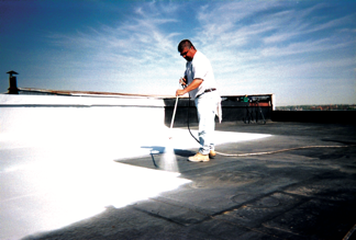 Apoc 174 247 Sun Shield 174 Bright White Elastomeric Roof Coating