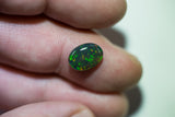 Black Opal Lightning Ridge natural solid 2.20ct Australian gem BOSD290817 - Black Opal Shop