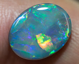 Semi-Black Opal Lightning Ridge natural solid 2.56ct Australian gem SBOH030917 - Black Opal Shop
