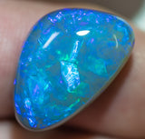 Black Opal Lightning Ridge natural solid 14.03ct Australian gem BOSA030917 - Black Opal Shop