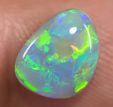 Australian Natural Solid Semi-Black Opal Stone 1.77ct Gem SBOPB110115