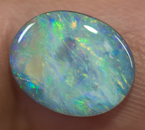 Lightning Ridge Solid Semi-Black Opal Stone Multi-Color Gem 2.11ct  SBO1310515