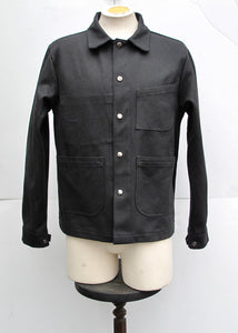 Painter Jacket | Black Canvas