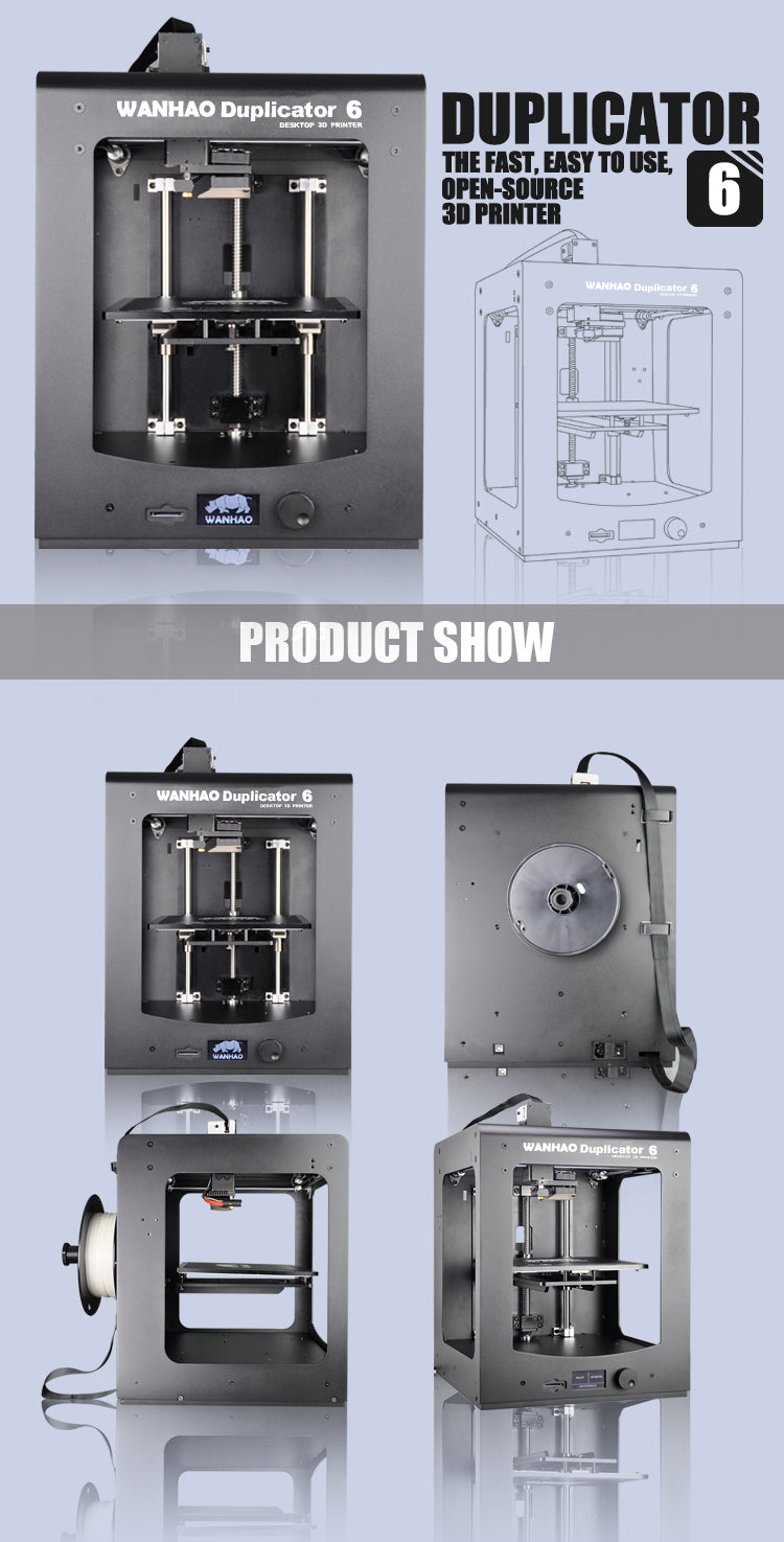 wanhao duplicator 6 360 view