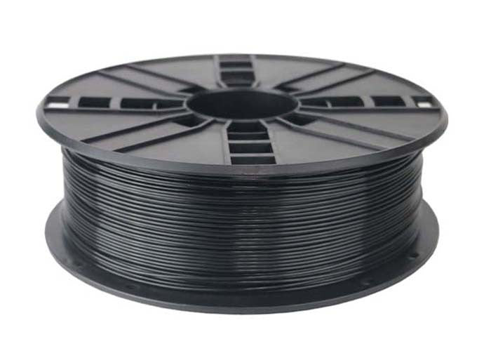 black ABS filament