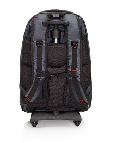 Viajway TrolleyMate X316 Wheeled or Rolling Backpack with Removable Handle and Wheels for Men and Women