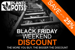 The Plant Pot Direct Black Friday Discount Weekend (including Cyber Monday)