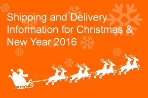Christmas Delivery information 2016