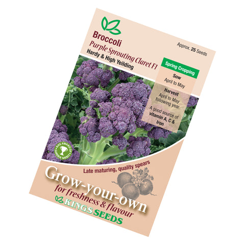 Broccoli Purple Sprouting Late Seeds