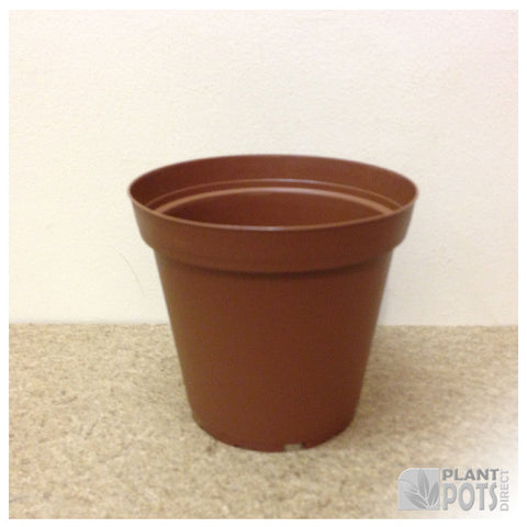 13cm Round plant pot (injection moulded)