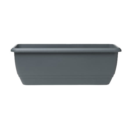 50cm Patio Trough PP - Slate Grey