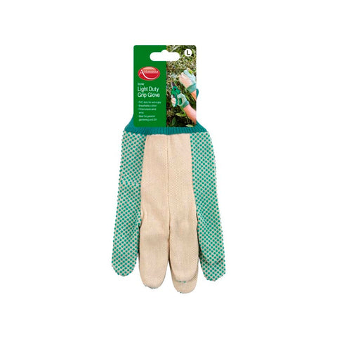 Ambassador Light Duty Grip Glove PVC dots for extra grip